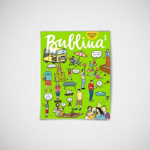 Dětský časopis Bublina 1