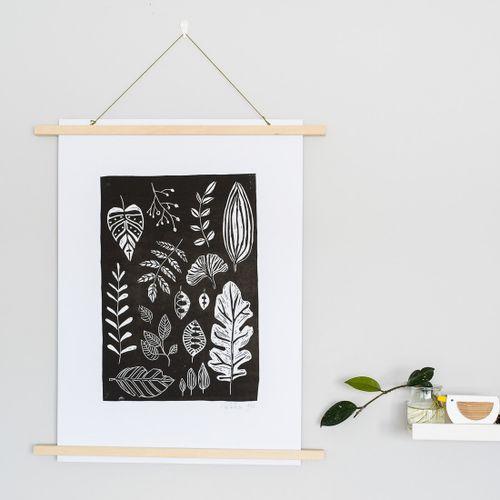 Linoryt Černé listy