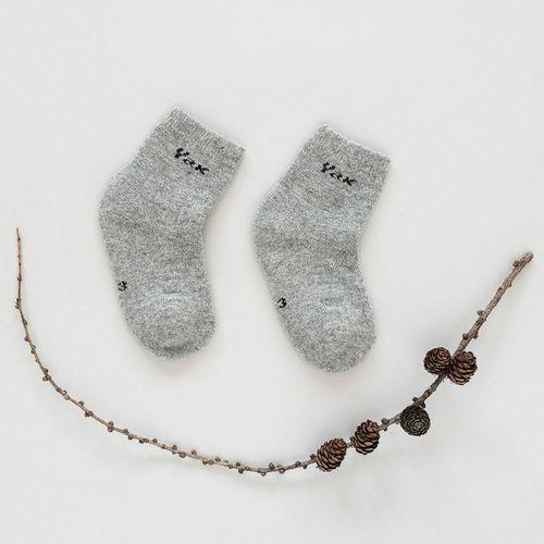 Dětské vlněné ponožky Šedý jak