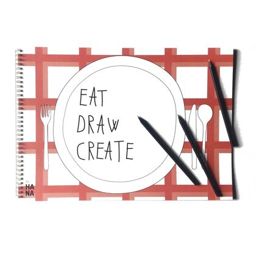 Pracovní sešit Eat, draw, create