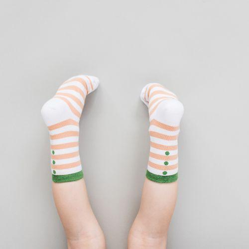 Dětské ponožky Broskev