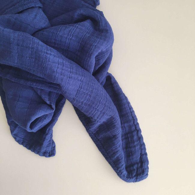 Mušelínový šátek Půlnoc